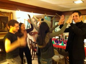 My Family Dancing on NYE 2010