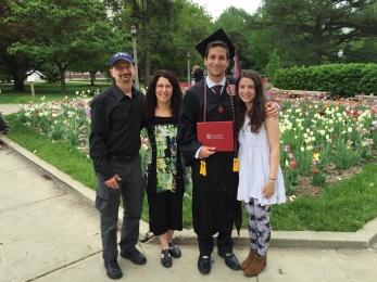 Joey's Graduation
