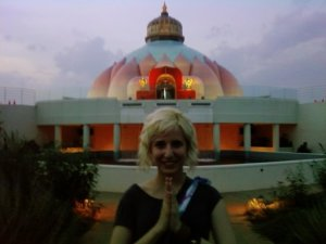 Katie At The Ashram